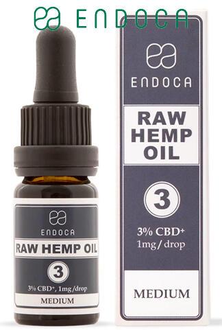 Endoca - Raw CBD Oil 30Mg CBD+/ml (Medium)