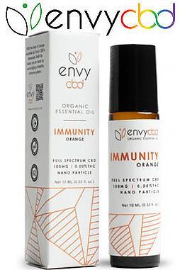 undefined - CBD Immunity Essential Oil Roll-On