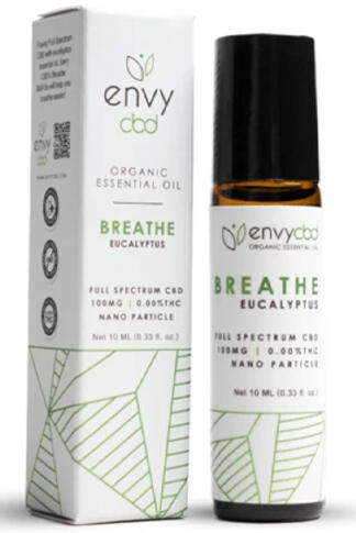 undefined - CBD Breathe Essential Oil Roll-On