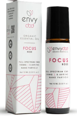 undefined - CBD Focus Essential Oil Roll-On