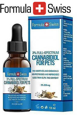 undefined - Pet CBD Oil in Hemp Seed Oil 5 % 500 mg 0 THC