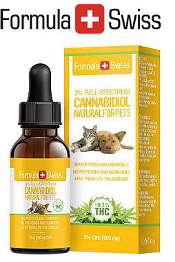 undefined - CBD Oil Drops in MCT Oil 5% 500mg for Pets