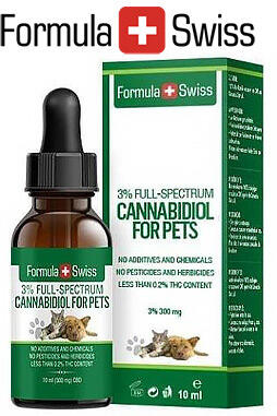 undefined - Pet CBD Oil in Olive Oil 3% 300 mg 0 THC