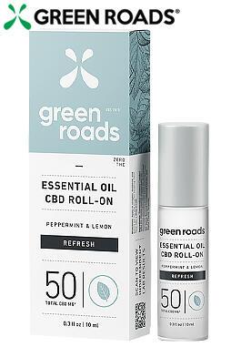 Essential Oil Roll-On - Refresh - 50mg CBD