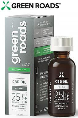 Full Spectrum CBD Oil, 25mg/ML