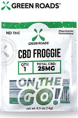 Sweet CBD Froggies - 25mg