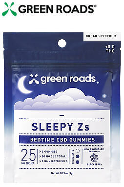 Sleepy Zs CBD Gummies (2ct) - 50mg