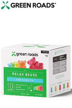 300mg Relax Bears - 30ct bottle