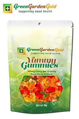 Green Garden Gold - CBD Yummy Gummies 24 Pack