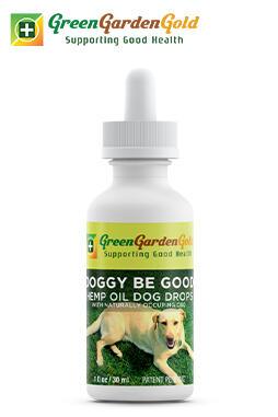 Green Garden Gold - Doggy Be Good™ CBD Oil
