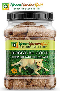 Green Garden Gold - Doggy Be Good™ CBD Oil Treats: Gluten Free