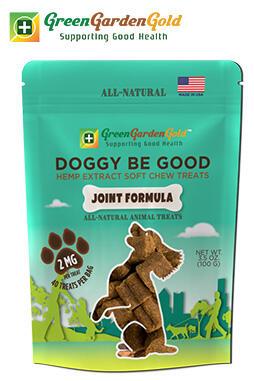 Green Garden Gold - Doggy Be Good™ CBD Soft Chew Treats: Joint Formula