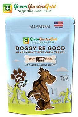 Green Garden Gold - Doggy Be Good™ CBD Soft Chew Treats