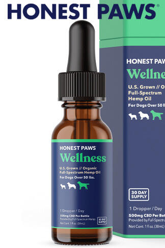 Honest Paws - CBD Oil For Dogs Purity Level 3