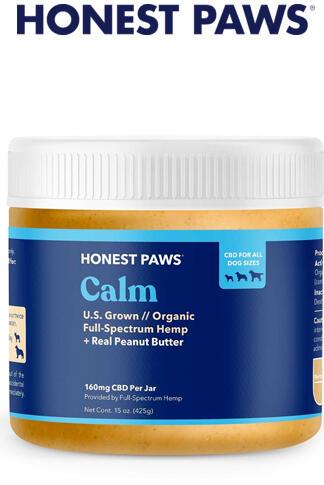 Honest Paws - Calm CBD with Peanut Butter