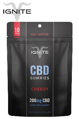 Ignite - 200mg CBD Gummies 10ct