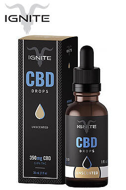 undefined - 350MG CBD Oil Drops - Unscented