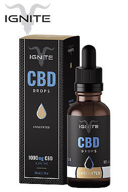 undefined - 1000MG CBD Oil Drops - Unscented