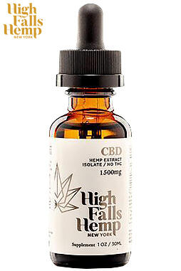 undefined - CBD Isolate Tincture 1500mg