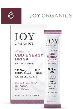 Joy Organics - CBD Energy Drink Mix