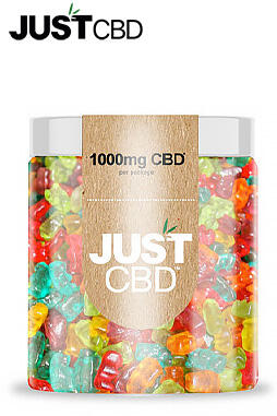 JustCBD - Sugar Free CBD Gummies 1000mg