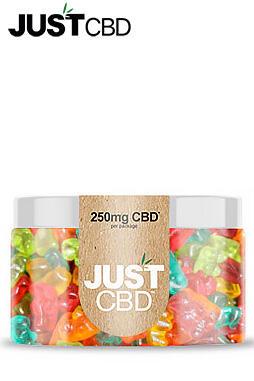JustCBD - Sugar Free CBD Gummies 250mg