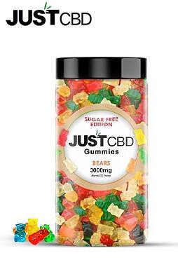 JustCBD - Sugar Free CBD Gummies 3000mg