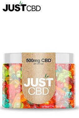 JustCBD - Sugar Free CBD Gummies 500mg