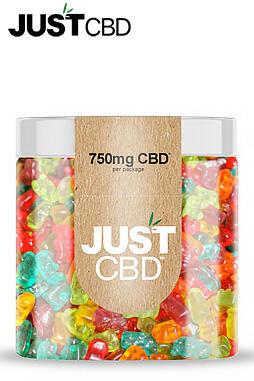 JustCBD - Sugar Free CBD Gummies 750mg