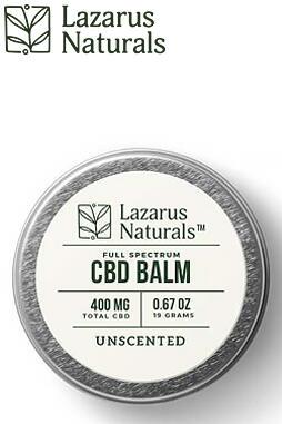 undefined - Full Spectrum CBD Balm 400mg