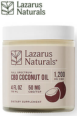 CBD Coconut Oil 1200mg
