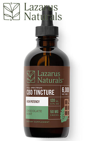 undefined - Chocolate Mint Flavored High Potency Full Spectrum CBD Tincture