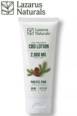undefined - Unscented Full Spectrum CBD Lotion 2000mg