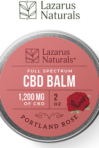 undefined - Portland Rose Full Spectrum CBD Balm