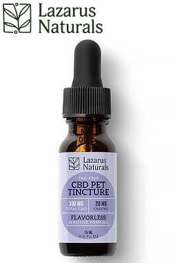 undefined - Flavorless Sensitive Pet CBD Tincture 300mg