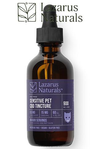 undefined - Sensitive Pet CBD Oil Tincture