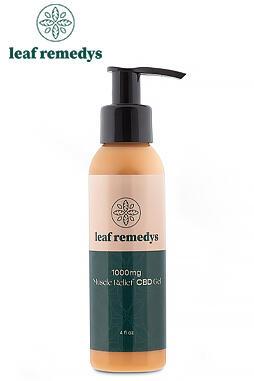 Leaf Remedys - CBD Cooling Gel 1000mg Extra Strength 1000mg