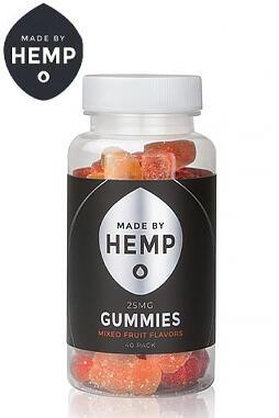 Made By Hemp - Made By Hemp – CBD Gummies 20-40 Pack (25mg CBD ea.)