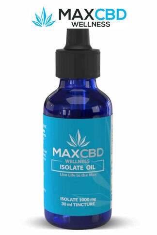 undefined - 0% THC 1000mg Isolate CBD Oil