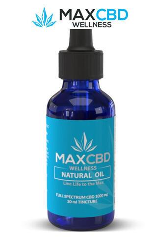 undefined - Max Relief 1000mg Full Spectrum CBD Oil