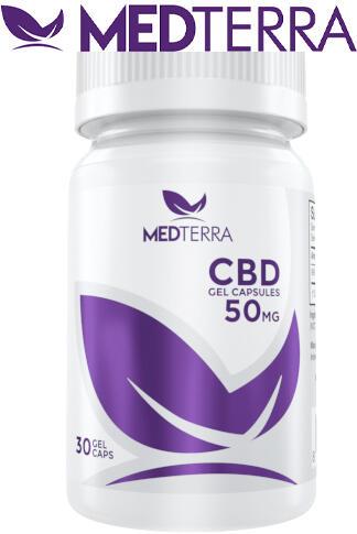 Medterra CBD - CBD Gel Capsules 50 mg