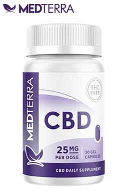 Medterra CBD - CBD Gel Capsules 25 mg