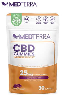 Medterra CBD - CBD Gummies Immune Boost
