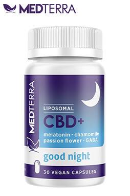 Medterra CBD - Liposomal CBD + Good Night