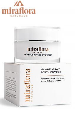 Miraflora - CBD Body Butter 250mg 15ml