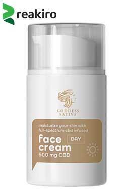undefined - Moisturising Day Face Cream 500 mg CBD, 50 ml