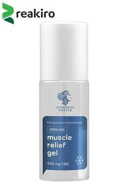 undefined - Muscle Relief Cooling Gel, 500 mg CBD, 100 ml