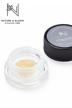 Nature and Bloom - Broad Spectrum CBD Crumble (97% CBD) 0.5g