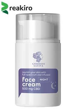 Reakiro - Nourishing Night Face Cream 500 mg