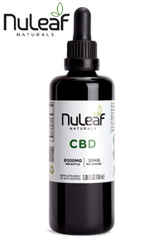 Nuleaf Naturals - Full Spectrum Hemp CBD Oil 6000mg